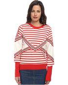 See By Chloé Stripe L/S T-Shirt - Lyst