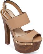 Jessica Simpson Dallis Platform Sandals - Lyst