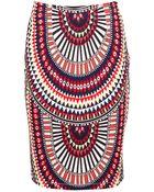 Mara Hoffman El Mundo High Waisted Pencil Skirt - Lyst