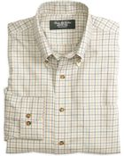 Brooks Brothers Country Club Noniron Regular Fit Cotton Cashmere Tattersall Sport Shirt - Lyst