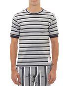 Thom Browne Shadowstripe Shirt - Lyst