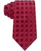 Tommy Hilfiger Red Connected Neat Tie - Lyst