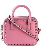 Valentino 'Rockstud' Crossbody Bag - Lyst