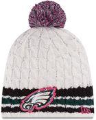 New Era Philadelphia Eagles Breast Cancer Awareness Knit Hat - Lyst