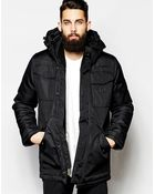 G-Star RAW G Star Hooded Parka Jackets Swat Heavy Lined - Lyst