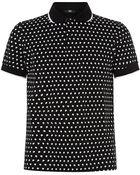 Markus Lupfer Skull Printed Polo Shirt - Lyst