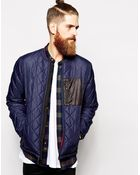 Penfield Kasota Quilted Bomber Jacket - Lyst