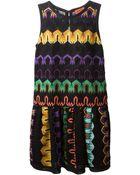 Missoni Zig Zag Crochet Dress - Lyst