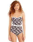 Shark Tm Daisy On You One-Piece Swimsuit - Lyst