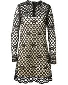 Marc Jacobs Crochet Dress - Lyst