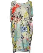 Lala Berlin Short Dress - Lyst