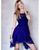 Free People All Dolled Up Lace Dress - Lyst