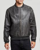 Marc By Marc Jacobs Trevor Leather Jacket - Lyst