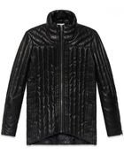 Helmut Lang Petal Leather Puffer Jacket - Lyst