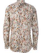 Dolce & Gabbana Playing Card Shirt - Lyst