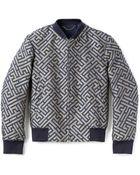 Kenzo Maze Jacquard Blouson Jacket - Lyst