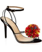 Charlotte Olympia Pom Sandals - Lyst