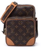 Louis Vuitton Brown Amazone Shoulder Bag - Lyst