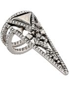 House Of Harlow Trés Tri Finger Ring - Lyst