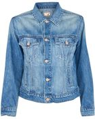 Mother The Brother Denim Jacket - Lyst