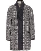 Etoile Isabel Marant Knitted Cotton-Blend Coat - Lyst