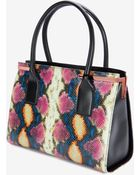 Ted Baker Exotic Effect Leather Tote Bag - Lyst