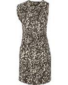 Isabel Marant Marcia Printed Silk Crepe De Chine Dress - Lyst