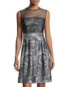 Muse Fit-&-Flare Cocktail Dress - Lyst