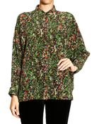 M Missoni Shirt Over Silk Print - Lyst