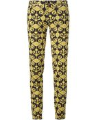 Versace Baroque Print Trousers - Lyst