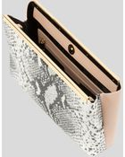 Ted Baker Clutch - Reni Exotic Embossed - Lyst