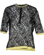 Aimo Richly Blouse - Lyst