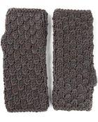 Dolce & Gabbana Fingerless Mitten Gloves - Lyst