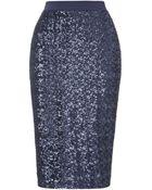 Whistles Delphine Sequin Skirt - Lyst