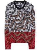 Kenzo Sequin Wool Jumper - Lyst