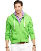 Polo Ralph Lauren Full-Zip Classic Fleece Hoodie - Lyst