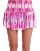 Loveshackfancy Jellyfish Crepe Mini Skirt - Lyst