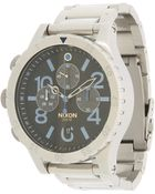 Nixon The 48-20 Chrono - The Future Clash Collection - Lyst