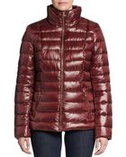 Calvin Klein Hooded Down Nylon Puffer Jacket - Lyst
