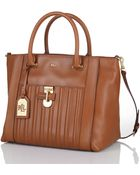 Lauren by Ralph Lauren Willenhall Leather Tote - Lyst