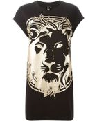 Versus  Lion Tunic Dress - Lyst