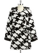 DKNY Its A Wrap Longsleeve Short Robe - Lyst