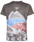 Diesel Snakes Eye Print T-Shirt - Lyst
