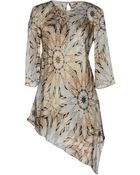Philosophy di Alberta Ferretti Short Dress - Lyst