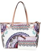 Etro Dream Catcher Printed Coated Canvas Tote - Lyst