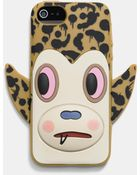 Coach X Baseman Buster Le Fauve Iphone 6 Case In Silicone - Lyst