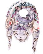 Etro Printed Modal & Cashmere Square Scarf - Lyst