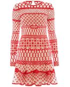 Temperley London Mini Fishnet Dress - Lyst