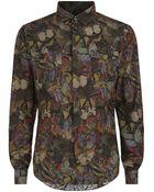 Valentino Butterfly Print Shirt - Lyst