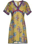 Lisa Corti Short Dress - Lyst